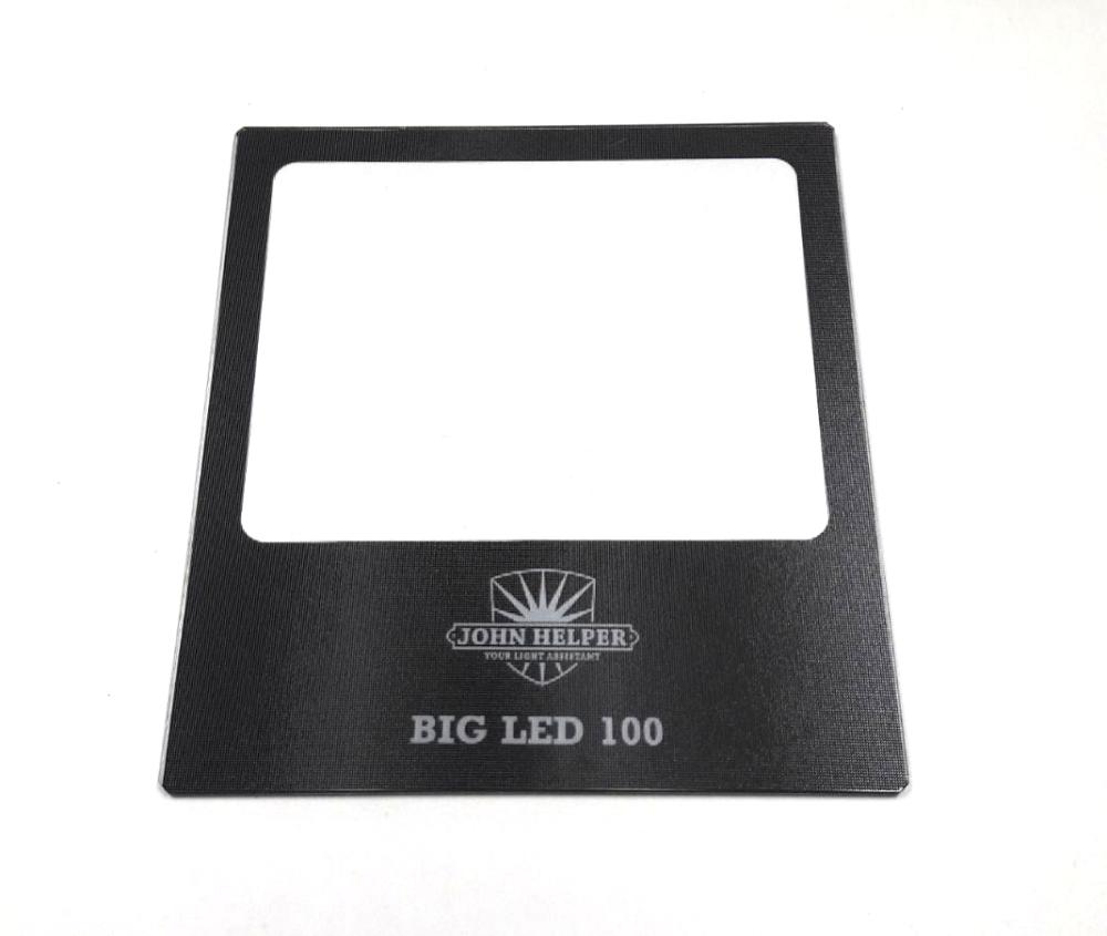 John Helper glas voor BIG LED 100 matglas