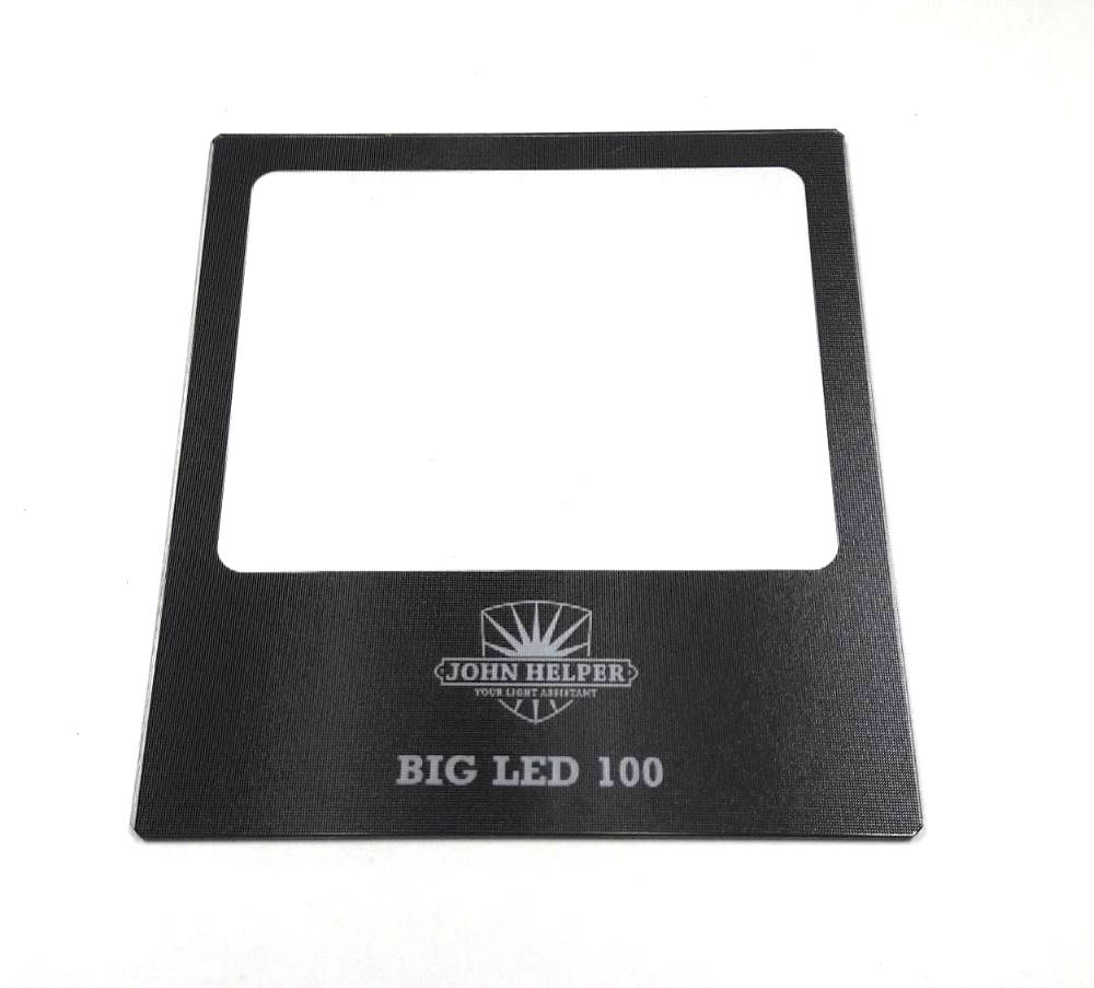 John Helper glas voor BIG LED 100 matglas