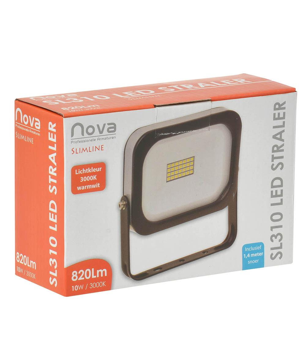 Nova SL310 slimline LED straler 10W 3000K_2