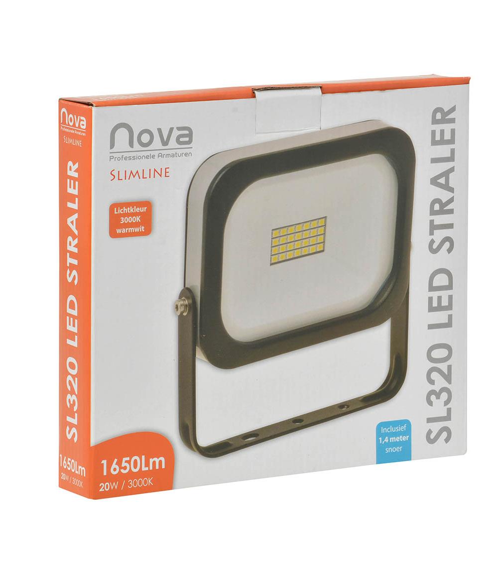Nova SL320 slimline LED straler 20W 3000K_2