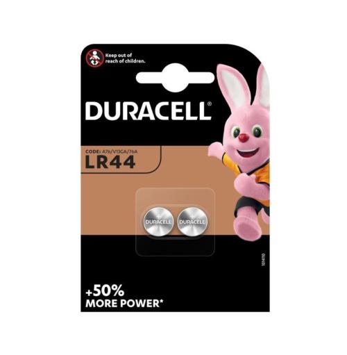 Duracell LR44 knoopcel batterijen 2 stuks