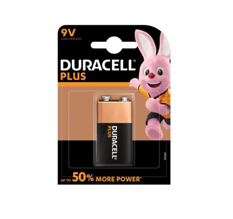 Duracell Plus 9V batterij