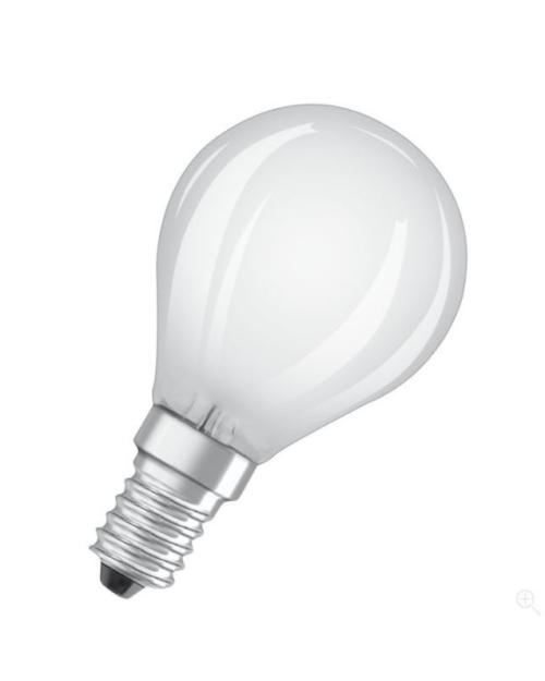 Ledvance LED retrofit CLASSIC P 40 mat dim E14 2700K