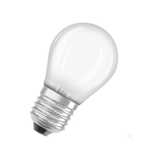 Ledvance LED retrofit CLASSIC P 40 mat dim E27 2700K