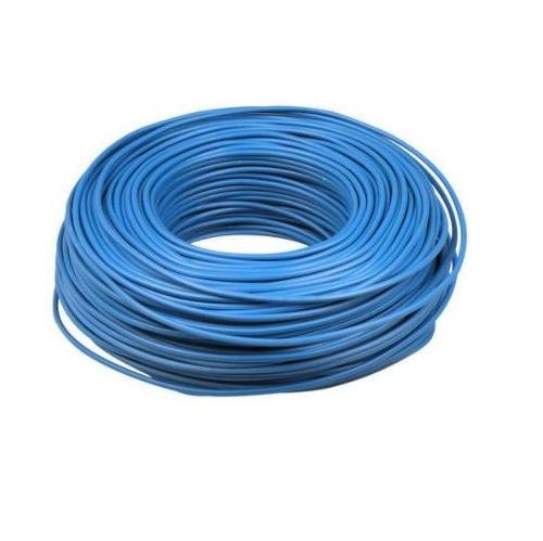 VD installatiedraad 2.5 blauw 100 meter