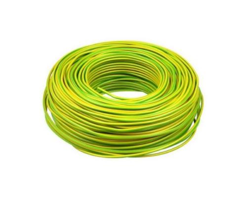 VD installatiedraad 2.5 geel groen 100 meter