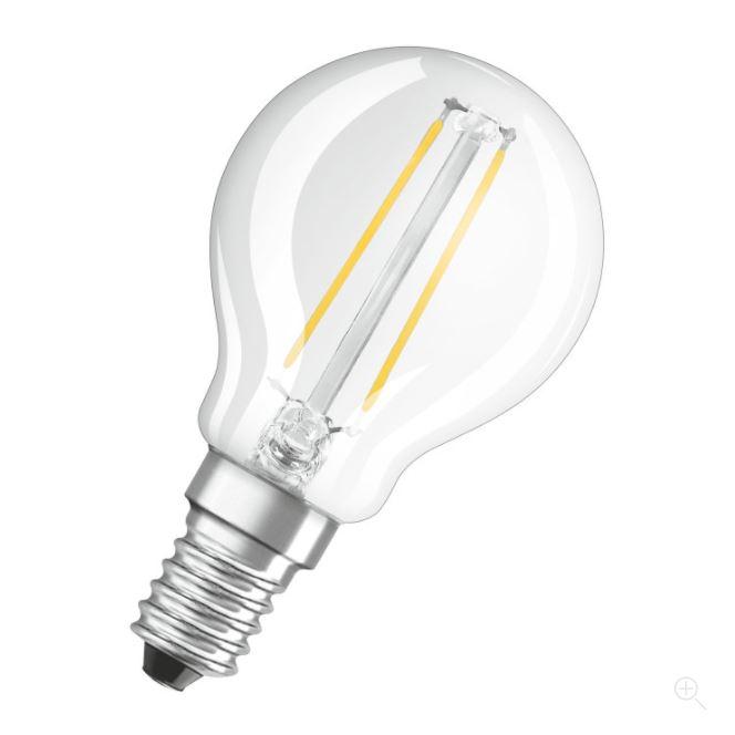 Ledvance LED Retrofit CLASSIC P 25 helder E14 2700K