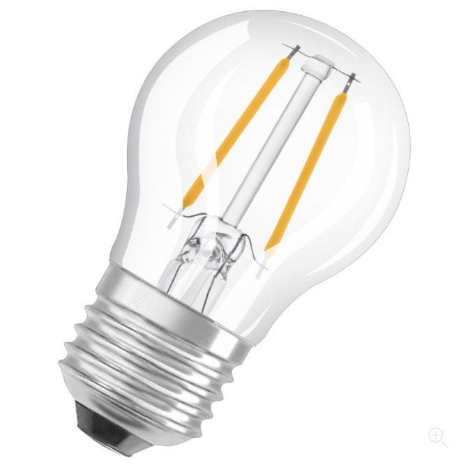 Ledvance LED Retrofit CLASSIC P 40 helder dim E27 2700K