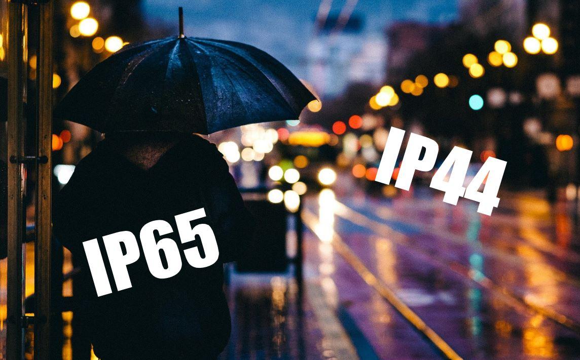 Wat betekent IP klasse zoals IP44 en IP54?
