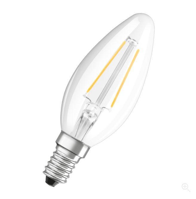 Ledvance LED Retrofit CLASSIC B 25 helder E27 2700K