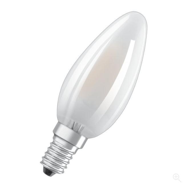 Ledvance LED Retrofit CLASSIC B 25 mat E27 2700K