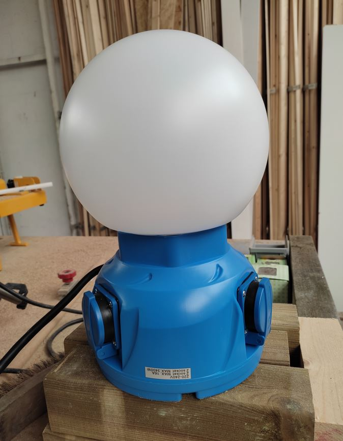 Nova LED werklamp Globe
